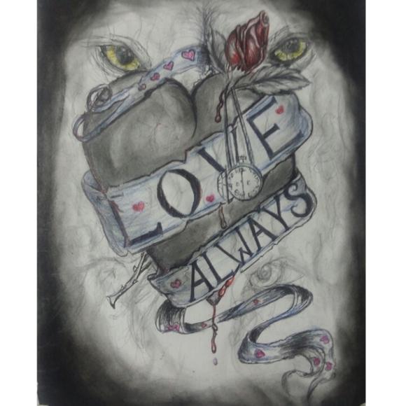 Other - Custom Artwork By My Husband ( Original Piece)